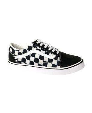 Zapatos V01 - Cuadros X Carnaza Negra