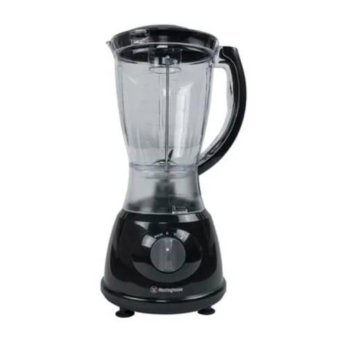 Licuadora Vaso De Plástico 1,5L Negro