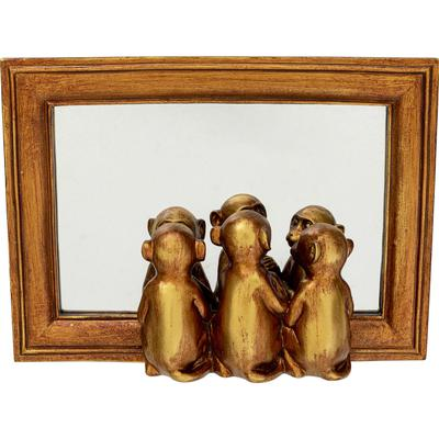 Objeto decorativo Monkeys Mirror
