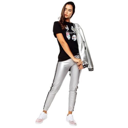 Jogger Silver Rosé Pistol Para Mujer  - Plateado