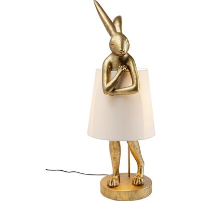 Lámpara mesa Animal Rabbit oro 88cm