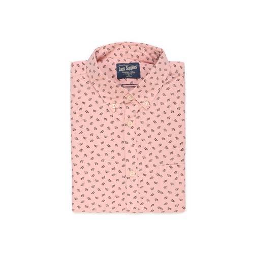Camisa Manga Larga Jack Supplies Para Hombre - Rosado