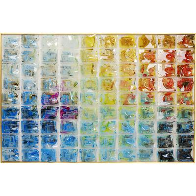 Cuadro Rainbow Fields 100x150cm