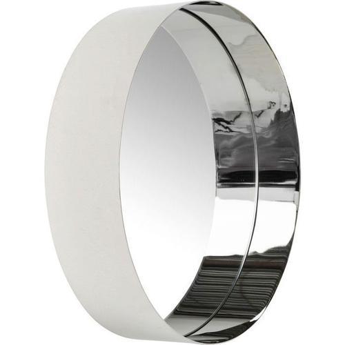 Espejo Luna plata Ø30cm