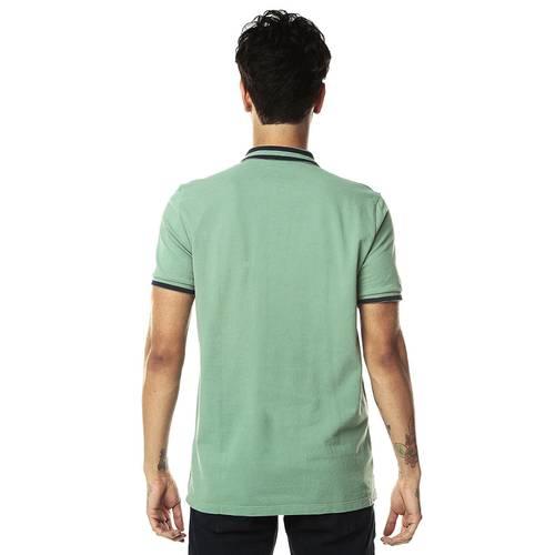 Camiseta tipo Polo Jack Supplies para Hombre-Verde