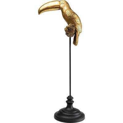 Objeto decorativo Toucan oro 88cm