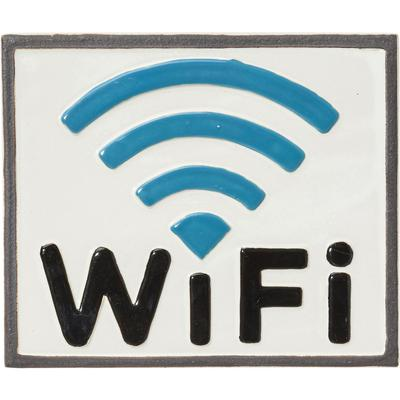 Decoración pared WIFI