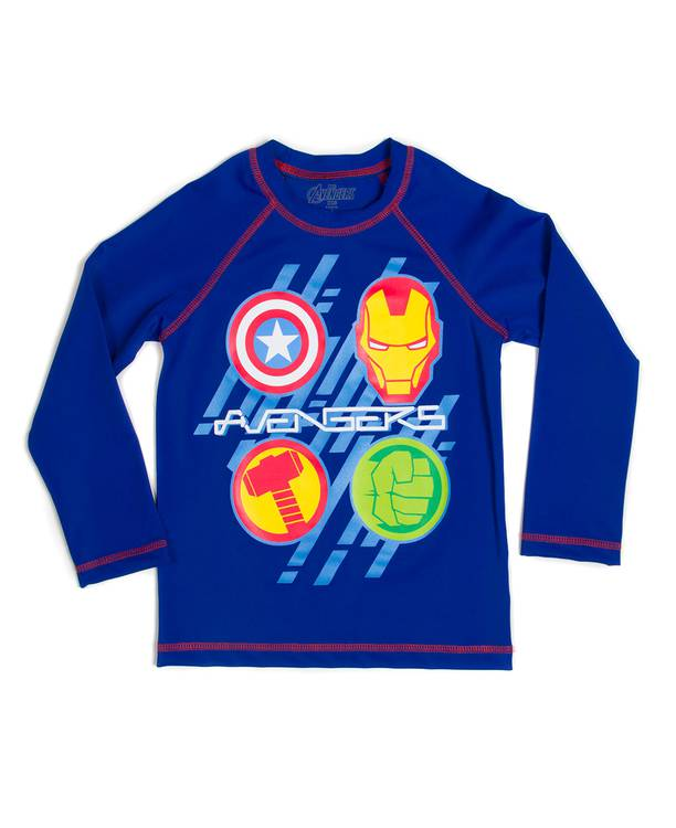Camiseta Baño Niño Avengers
