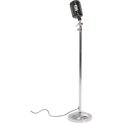 Lámpara pie Vintage Microphone