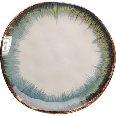 Taza Organic blanco azul  Ø20cm