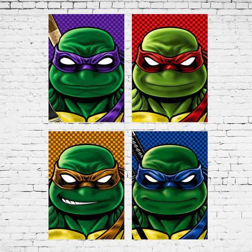 Cuadro Colección Tortugas