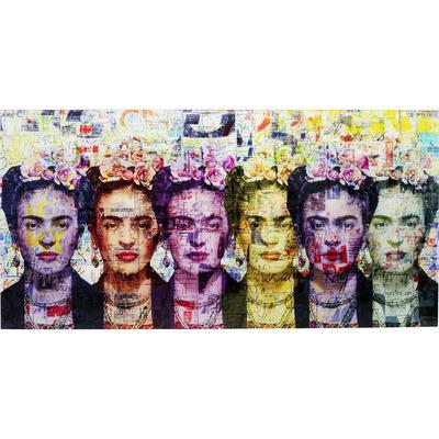 Cuadro cristal Frida Love 160x80