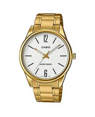 Reloj Análogo Blanco-Dorado G-7B - Casio