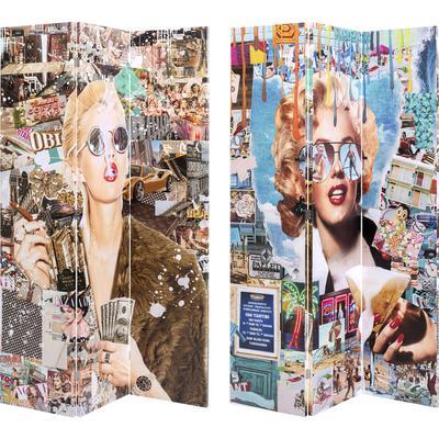 Biombo Trendy Shopper vs Holiday 60´s 120x180cm