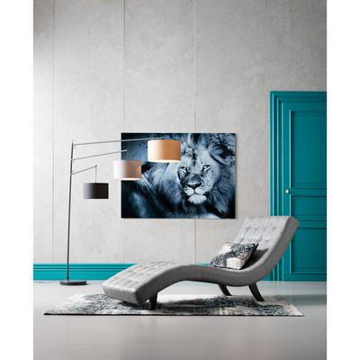Cuadro cristal Lion King tumbado 120x160cm