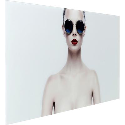 Cuadro cristal Naked Lady 80x150cm