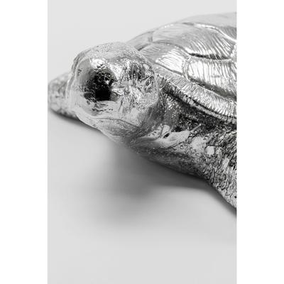 Figura decorativa Turtle Antik plata