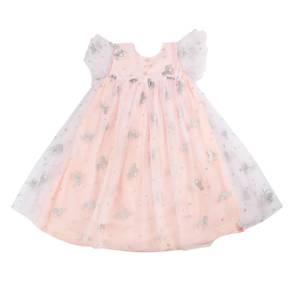 Vestido punto-plano Little Girl