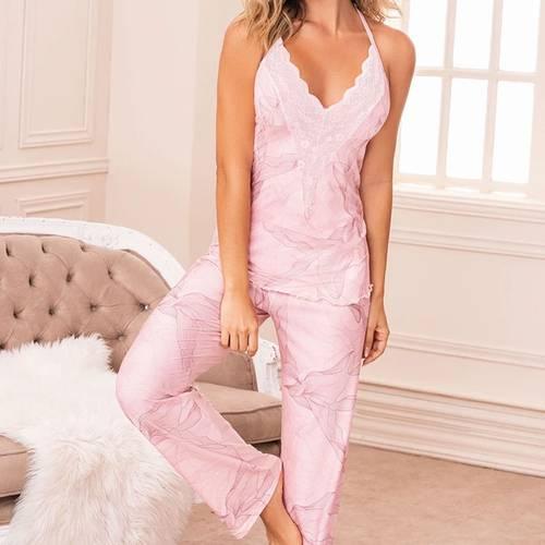 Pijama Palo Rosa 11450