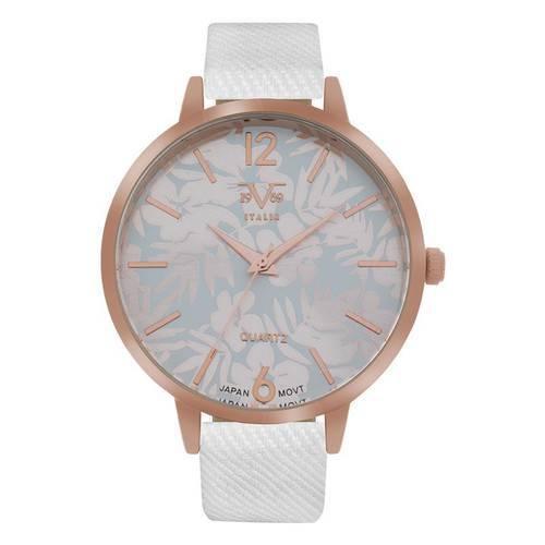 Reloj análogo estampado-blanco 04-4