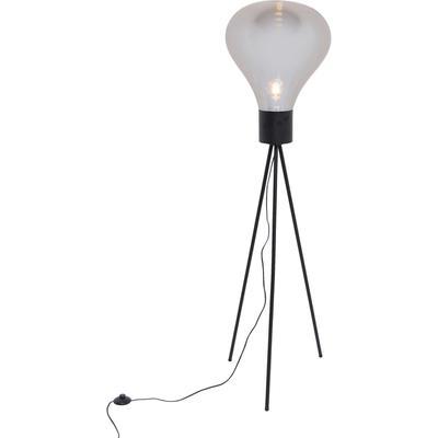 Lámpara pie Tripod Pear negro