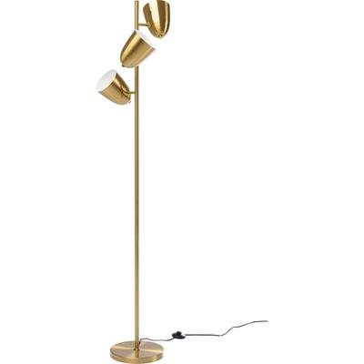 Lámpara pie Dr NoTriples oro 160cm