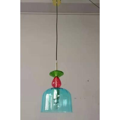 Lámpara Goblet Colore 1 azul claro