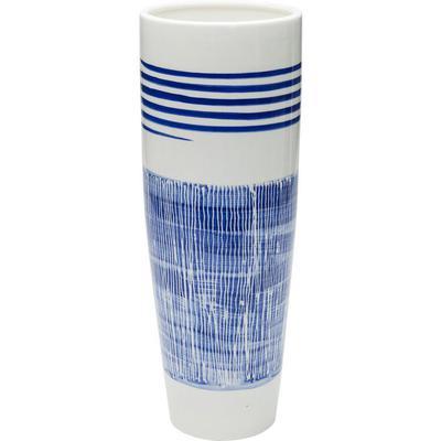 Vasija Grid azul Line 40cm
