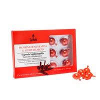 Tratamiento Capilar Queratina Y Aceite Argan Display X 12 Caps 1G