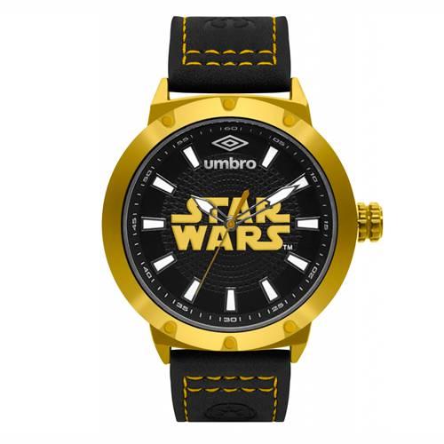 Reloj Análogo Dorado-Negro Umb-Sw01-4