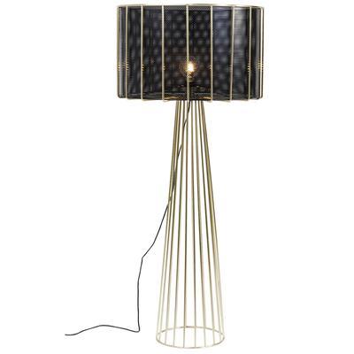 Lámpara pie Wire Bowl
