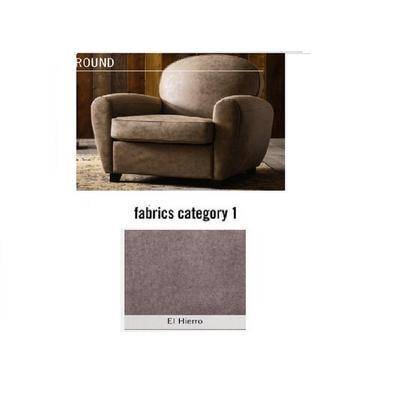Poltrona Round, tela 1 - El Hierro (84x82x84cms)