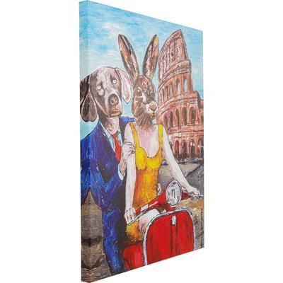 Cuadro Animal Pair Rome 80x60cm