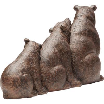 Objeto decorativo Relaxed Bear Family