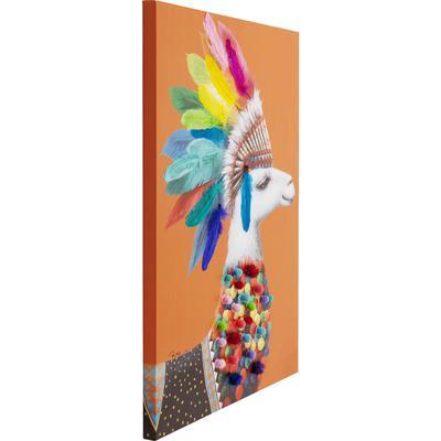 Cuadro Lama Chief 100x70cm