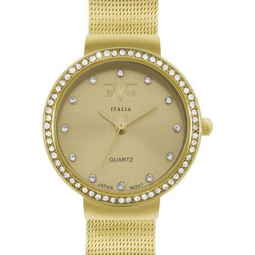 Reloj Beige-Dorado 93-2 - Versace