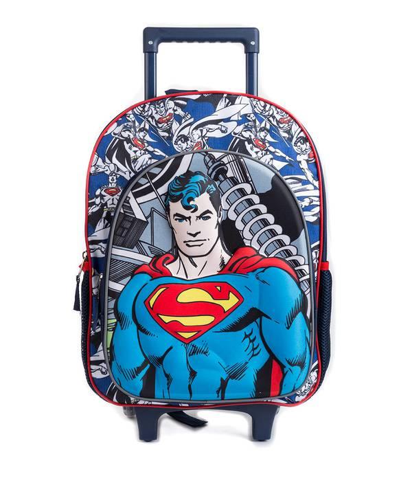 Mochila Niño Superman con rueda