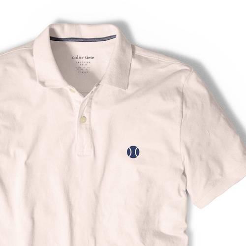 Polo Color Siete Para Hombre Rosado - Tenis