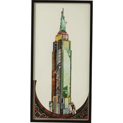 Cuadro-marco Art Empire State Building 100x50cm