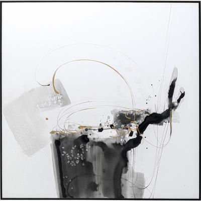 Cuadro lienzo Splotch 100x100cm