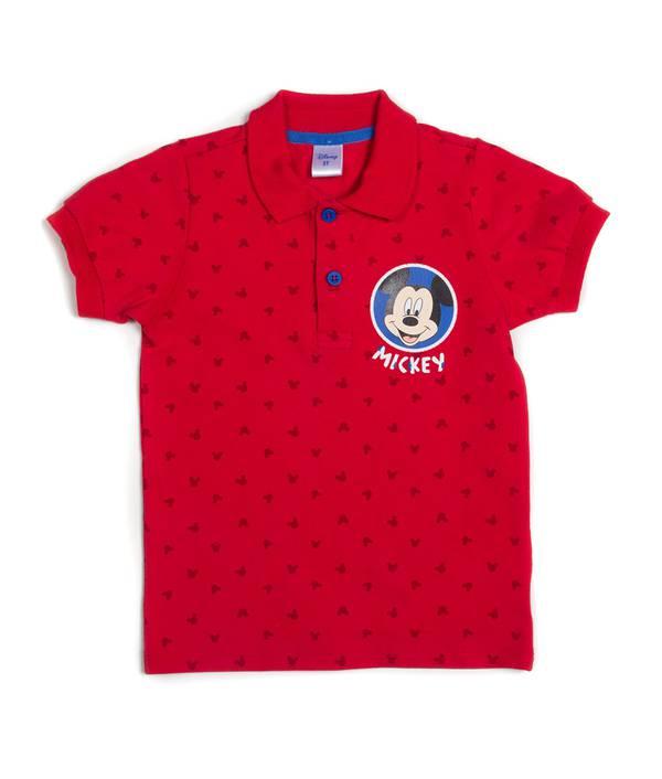 Camiseta Polo Caminador Mickey