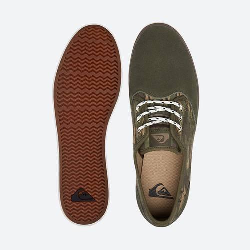 AQYS300061 Zapatos Shorebreak Delu Verde-café-Negro