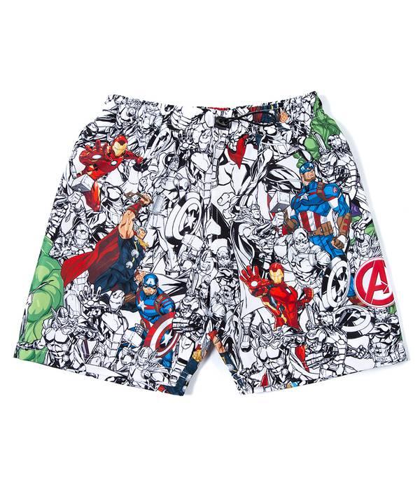 Pantaloneta baño niño Avengers