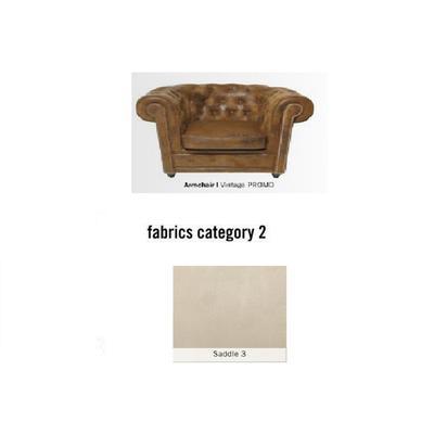 Poltrona Cambridge, tela 2 - Saddle 3  (115x76x92cms)