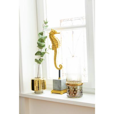 Objeto decorativo Sea Horse 57cm