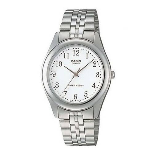 Reloj análogo blanco-plateado 1129A-7BR