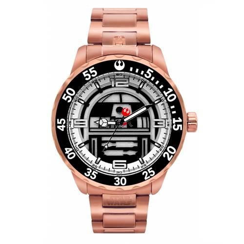 Reloj Análogo Oro rosa-Naranja Umb-Sw03-3