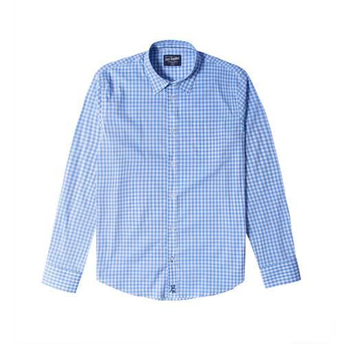 Camisa Wainscott Manga Larga Para Hombre Jack Supplies  - Azul