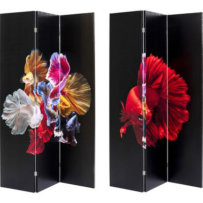 Biombo Colorful Fish vs Fire Fish 120x180cm