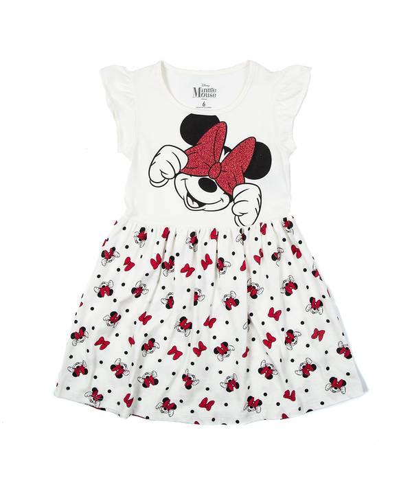 Vestido Niña Minnie